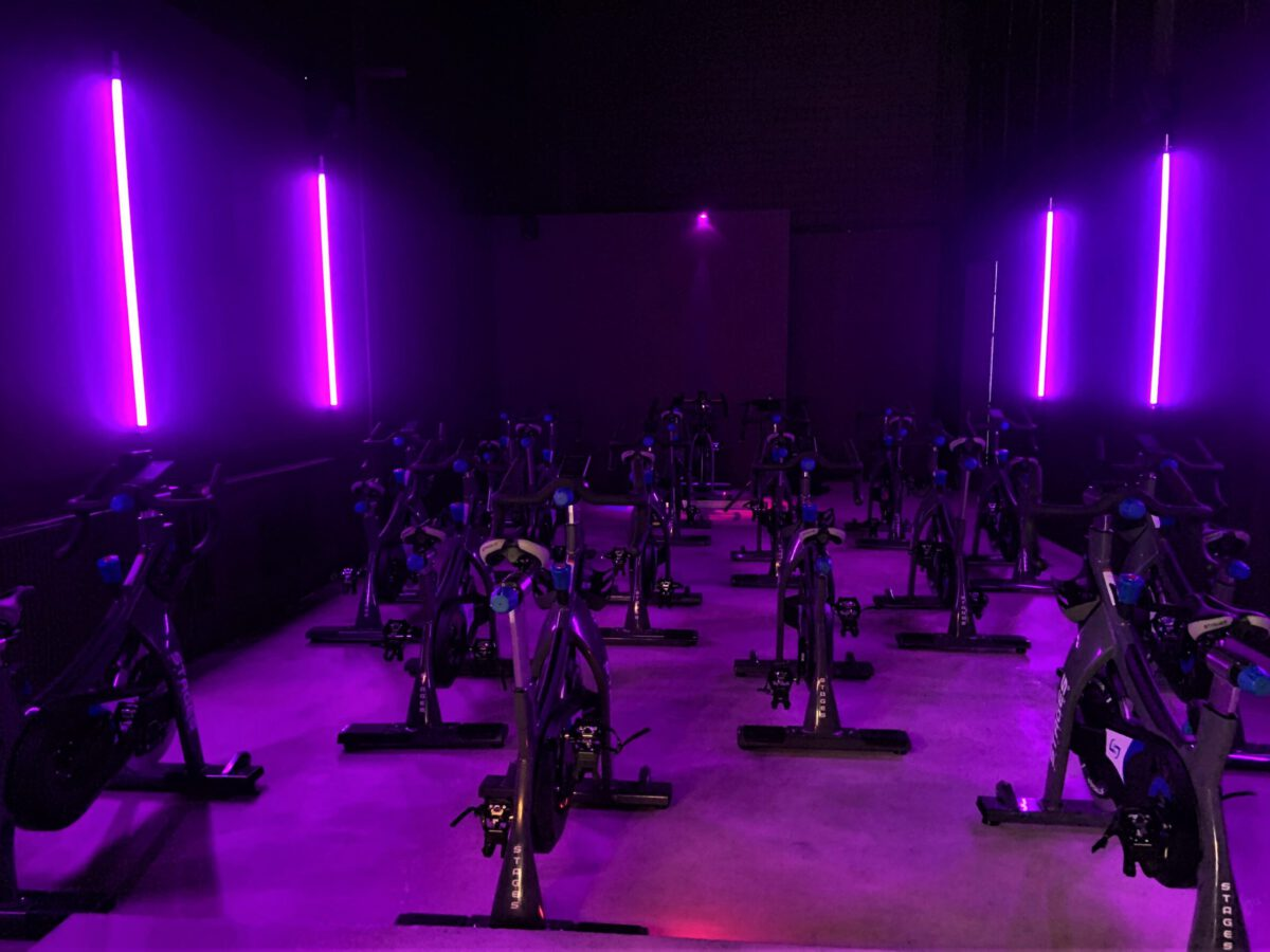 Cycle Room Pink Light