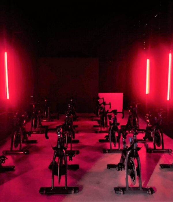 Cycle Room Training Room red light